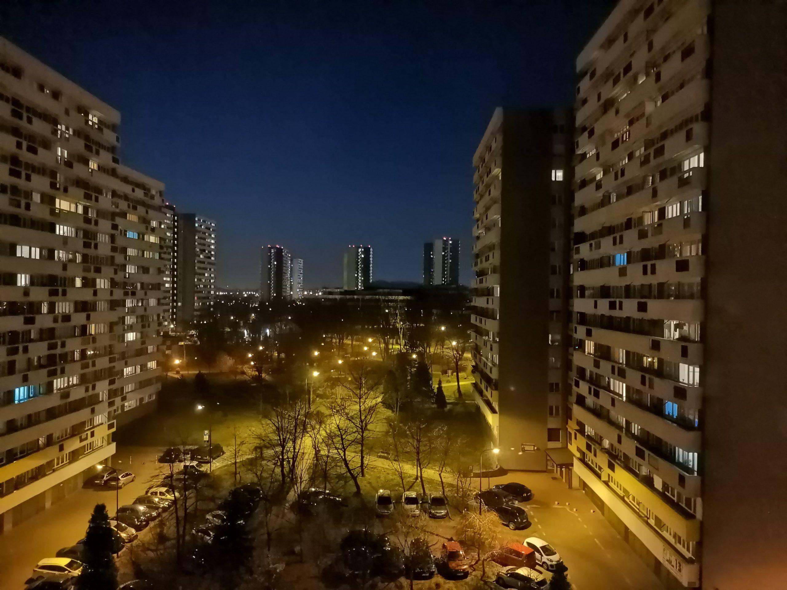 Zdjęcia nocne - Huawei P40 Lite