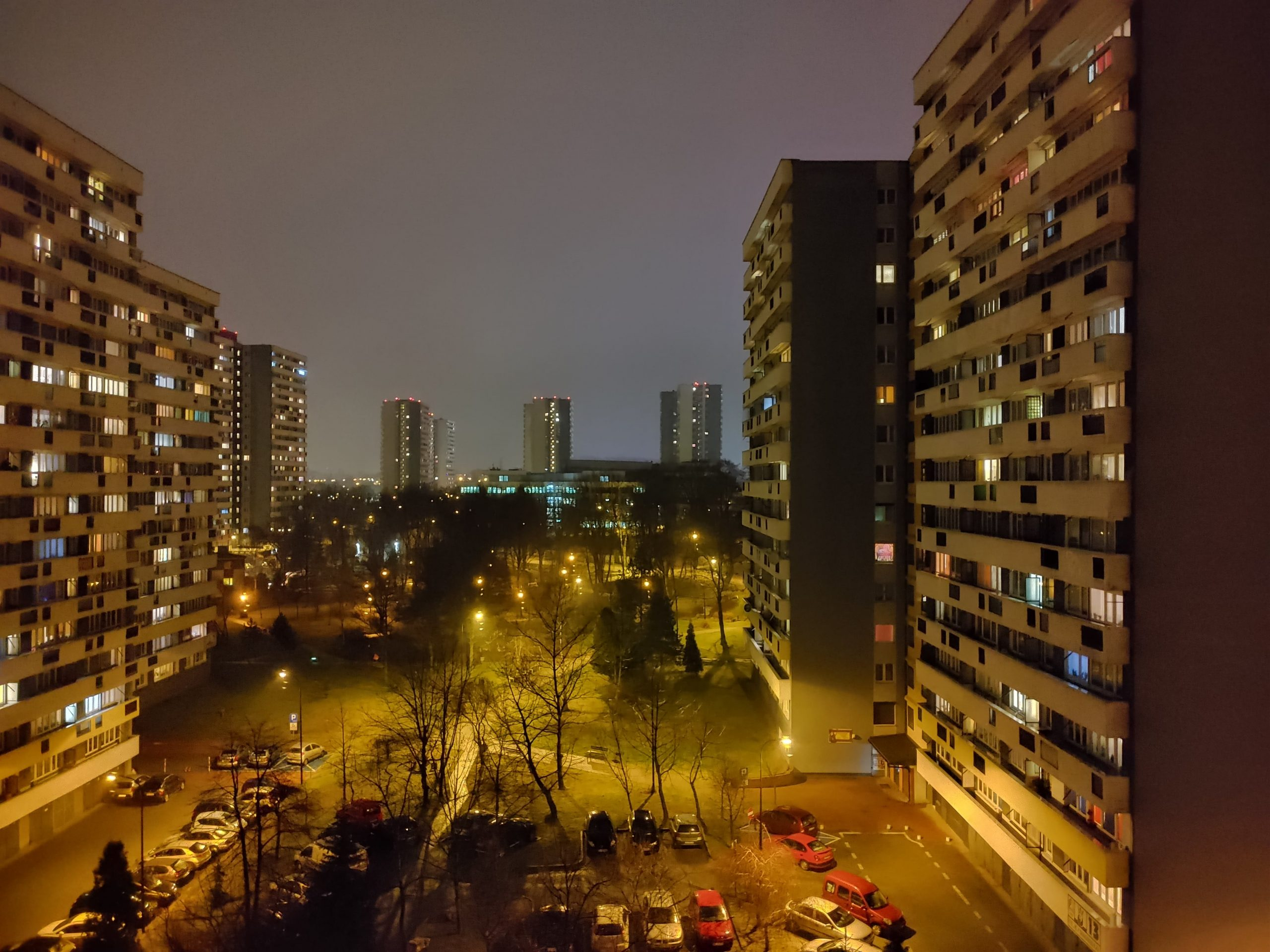 Zdjęcia nocne - LG G8X ThinQ