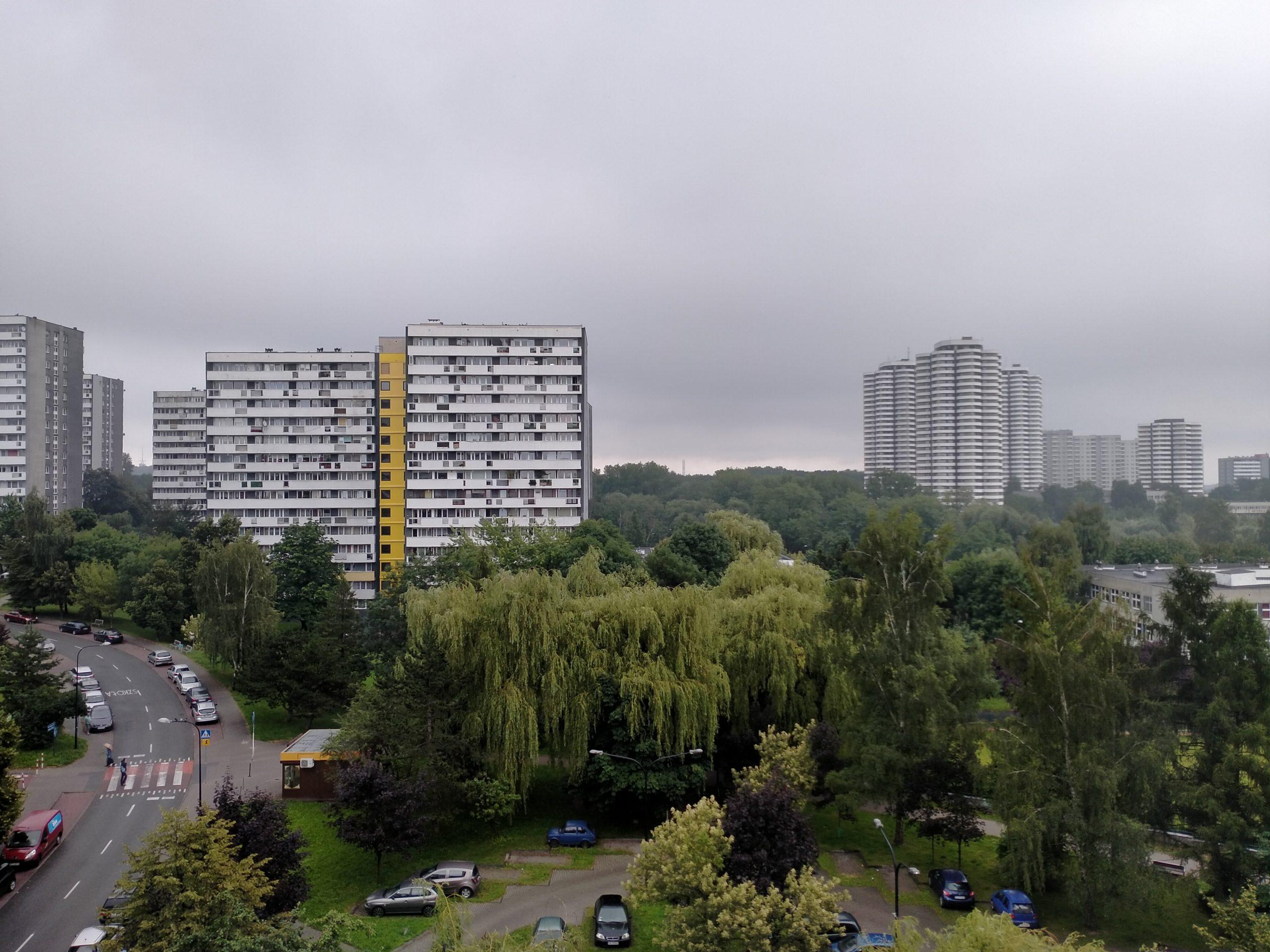 Pochmurna pogoda - Oppo A52