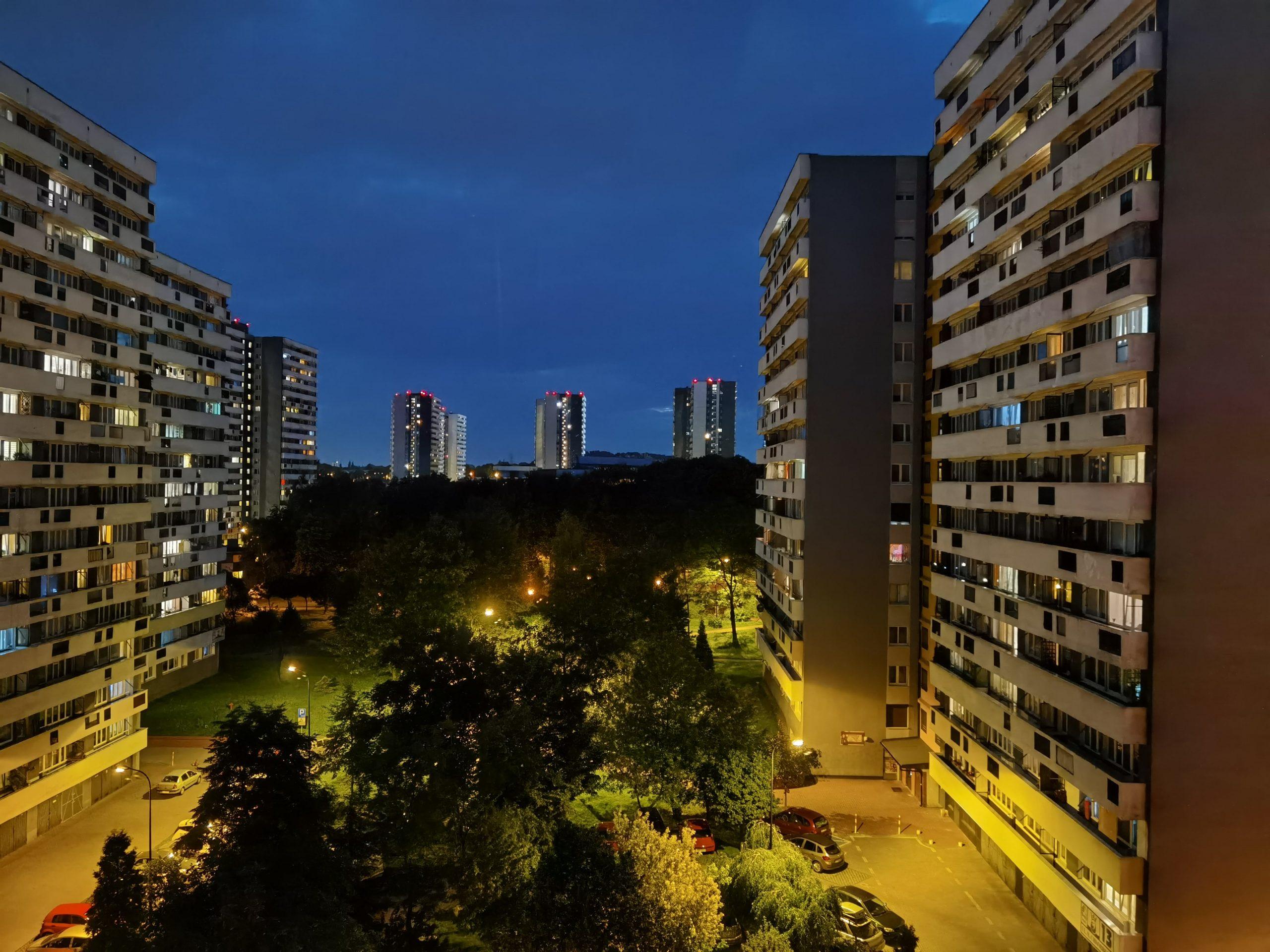 Zdjęcia nocne - Huawei P40 Pro